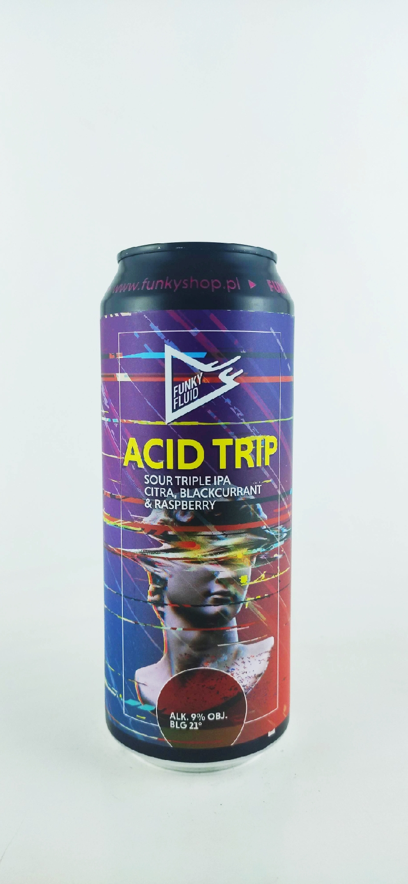Funky Fluid Acid Trip: Citra black currant&raspbeerrry Sour