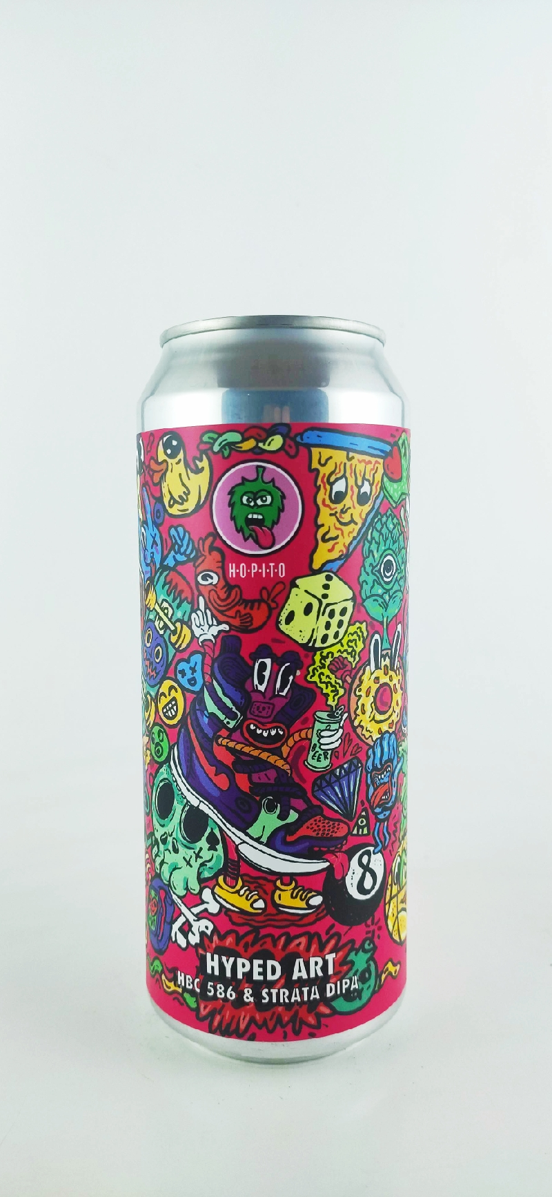Hopito Hyped Art DIPA 19°